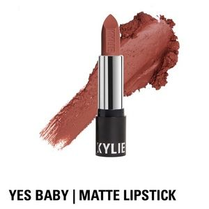 Kylie Cosmetics Matte Lipstick in Yes Baby, NIB
